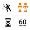 Tennishal Bleiswijk Winterles - Duo - 10x - 60m