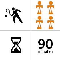 Tennishal Bleiswijk Winterles - Selectie - 4p - 21x - 90m
