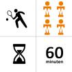Tennishal Bleiswijk Winterles - Groep - 4p - 10x - 60m
