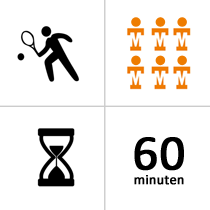 ATV Alblasserdam zomerles 2021 - Jeugd - 13 t/m 15 jaar - ca 6p - 36x - 60m