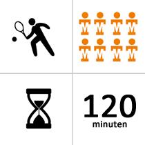 Tennishal Bleiswijk Winterles - Selectie - 8p - 21x - 120m