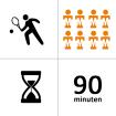 Tennishal Bleiswijk Winterles - Selectie - 8p - 21x - 90m