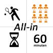ATV Alblasserdam - All-in pakket Jeugd  t/m 12 jaar
