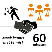 Numansdorp Winterles - Maak kennis met tennis - 5x - 60m