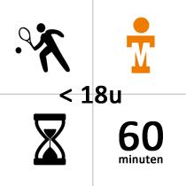 TSC Zwijndrecht Winterles - Privé - voor 18u - 21x - 60m