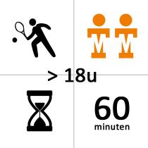 TSC Zwijndrecht Winterles - Duo - na 18u - 10x - 60m
