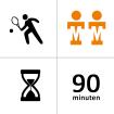 Tennishal Bleiswijk Winterles - Selectie - Duo- 21x - 90m