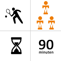Oranje-Wit winterlessen - Groep - 3p - 18x - 90m
