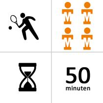 Ter Steeghe winterles - Groep - 4p - 15x - 50m