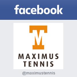 Maximus Tennis op Facebook