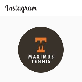 Maximus Tennis op Instagram